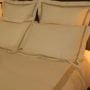 Cotton and Linen Duvet Cover