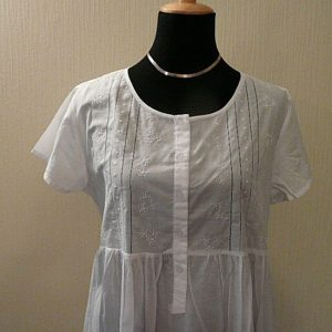 Cotton Nightie with Sleeves
