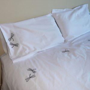 Dragon Fly Design Duvet Cover