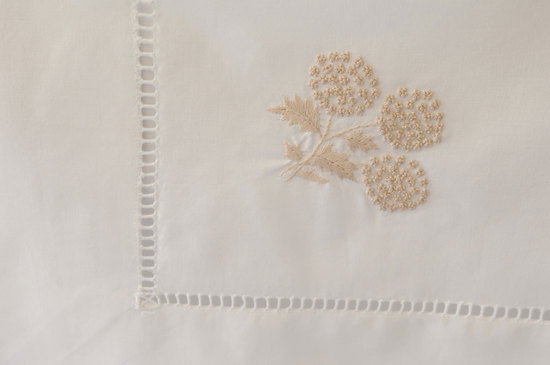 Small Tablecloth 90 x 90 cm -Beige Mimosa