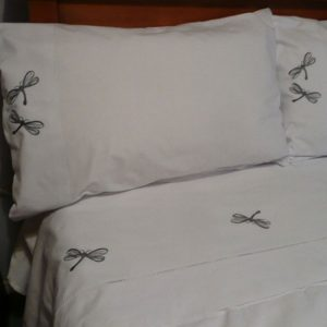 Cotton Dragon Fly Sheet and Pillowcases