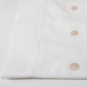 Beige Gold Spot Cotton Sheet and Pillowcases