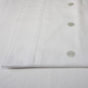 Pewter Spot Cotton Sheet and Pillowcases
